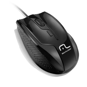 Mouse Usb Rapid Mo164 Preto Multilaser Original Barato