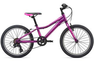 Bicicleta Niñas Rodado 20 C/ Cambios Giant Enchant 20 7vel
