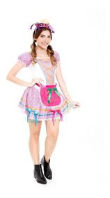Vestido De Festa Junina,roupa Caipira,junino,quadrilha,