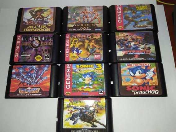 Cartuchos Mega Drive - Paralelos - Novos