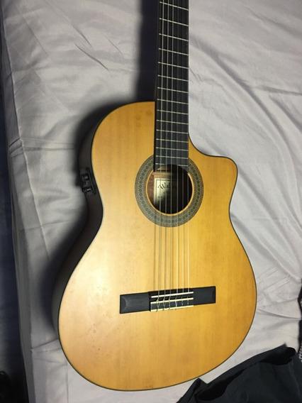 Guitarra Electro Acústica Nylon Walden N550ce