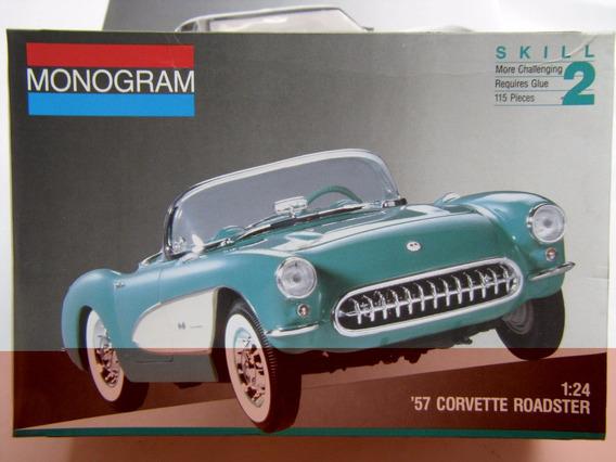 1957 Chevrolet Corvette Roadster - 1/24 - Monogran