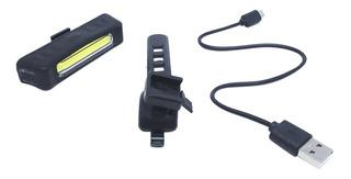Lanterna Bike Recarregável 5 Modos Iluminação Azteq Suporte