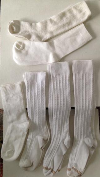 Medias Niña Franelillas Short Blancos (2x Precio)