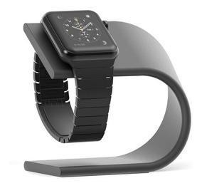 Dock Metal Suporte Mesa Base Apple Watch iPhone 7 8 Plus X
