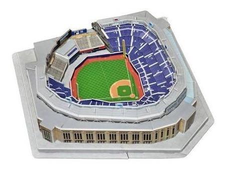 Yankees Rompecabezas 3d Parque De Beisbol
