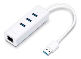 Adaptador Ethernet Rj45 Gigabit Hub Usb 3.0 Tp-link Ue330