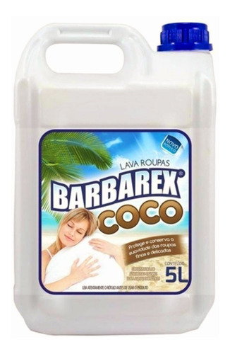 Lava Roupas Coco 5 Litros Barbarex