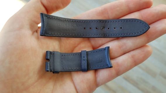 Arnold & Son - Correa Original Piel Royal Navy (22mm X 20mm)