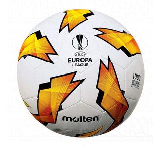 Balón Mini Fútbol # 1 Tpu Cosido Uefa Europa League Molten