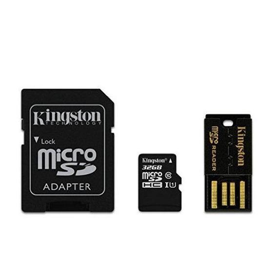 Cartão De Memória Kingston Micro Sdhc 32gb C10 Mbly10g2/32gb