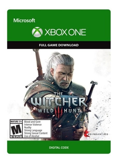 The Witcher 3 Wild Hunt Digital Xbox One Código 25 Digitos