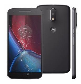 Troca Somente Do Vidro Motorola G4 Plus ( Jerry Cell )