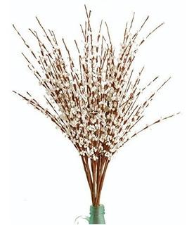 Flores Artificales Blancas Adornos Decorativos Boda Fiesta