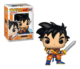 Figura Funko Pop Dragon Ball Z S6 - Young Gohan W/sword 621