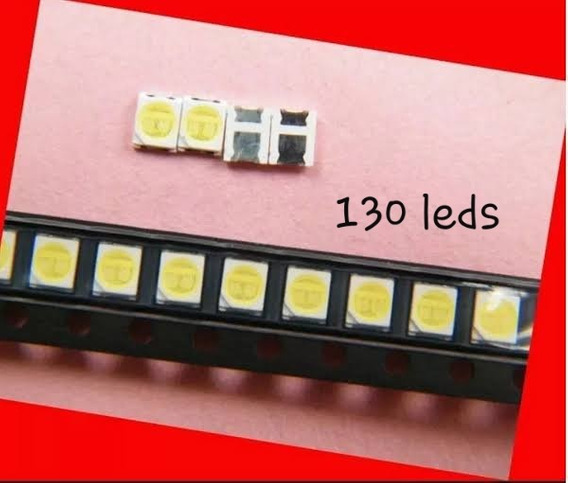 130 Led Philco Ph40r86dsgw 6v Original P/barra De 5 Leds