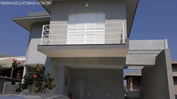 Belo Sobrado A Venda Em Atibaia, Condomínio Atibaia Park I (terras De Atibaia) - Ca00665 - 34678286