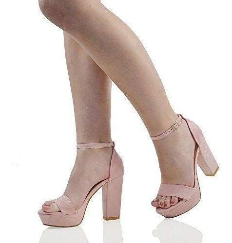 Zapatos Color Rosa Viejo Número 36-37-38-39