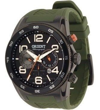 Relógio Orient Myspc002 Masculino Cronógrafo Visor Preto