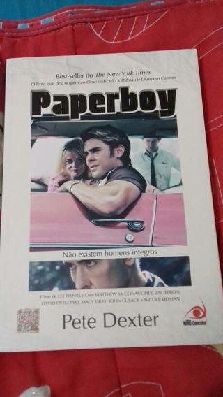 Livro Paperboy Pete Dexter Suspense Seminovo Novo Conceito