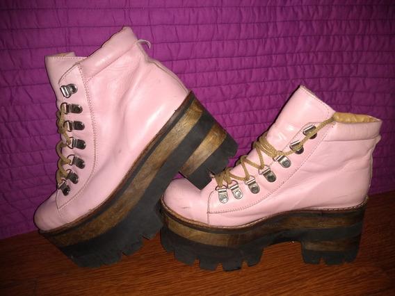 Borcegos Warrior Pink