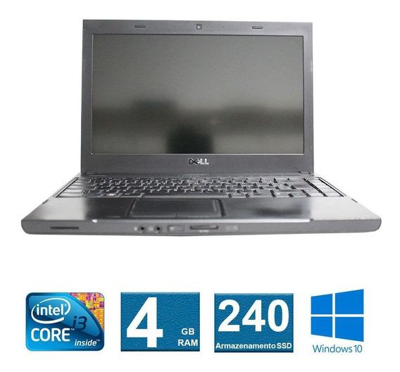 Notebook Dell Vostro 3300 I3 4gb 240ssd