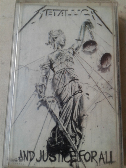 Metallica - And Justice For All Cassette Nacional