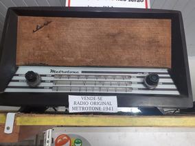 Vendo Original Metrotrone 1941 Funcionando Perfeitamente