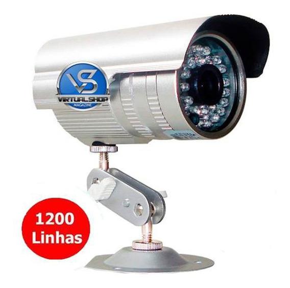 Câmera Cftv 36 Leds Infravermelho Segurança 1200 Linhas