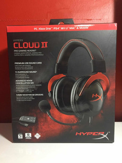 Audifonos Gamer Hyperx Cloud Ii Ps4