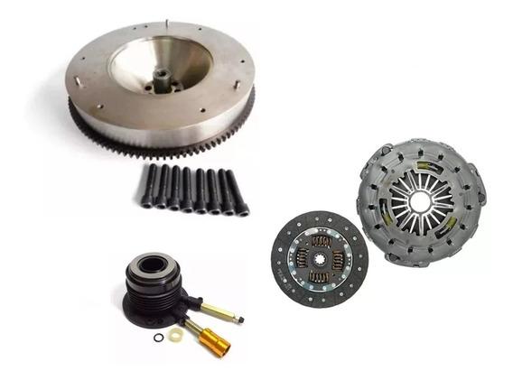Volante Motor Rígido + Kit Embreagem S10 Blazer 2.8 00 A 11