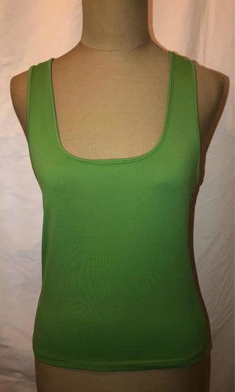 Remera Marca Zara - Verde - Talle M