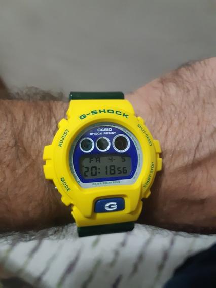 Casio G Shock G 6900 Edição Copa Do Mundo 2014