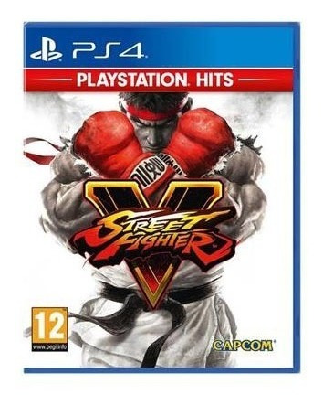 Street Fighter V Ps4 Playstation 4 Mídia Física Lacrado