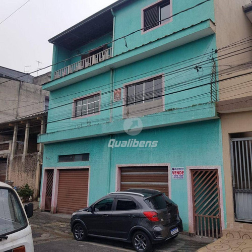 Imagem 1 de 22 de Sobrado Com 4 Dormitórios À Venda, 320 M² Por R$ 350.000,00 - Jardim Mauá - Mauá/sp - So0149