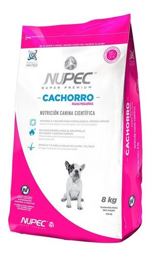 Imagen 1 de 5 de Croquetas Alimento Perro Cachorro Razas Pequeñas 8 Kg Nupec