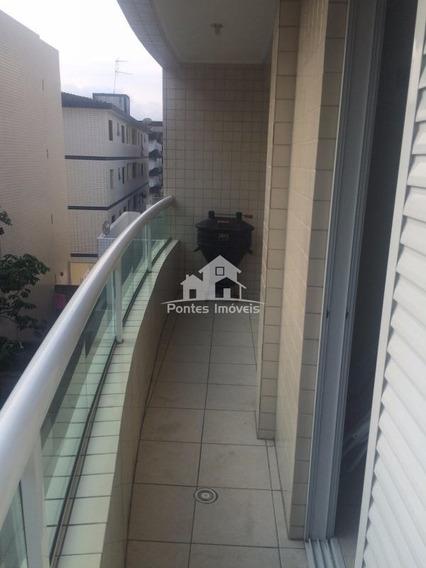 Apartamento Litoral 79m² 2 Quarto(s) C/suite Para Venda No Bairro Tupi Em Praia Grande - Sp - Apa278