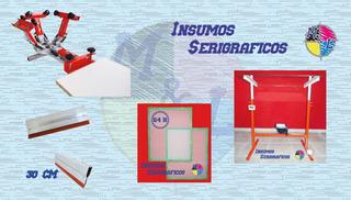 Kit Completo De Serigrafia, Pulpo 4x1, Insoladora, Shablones
