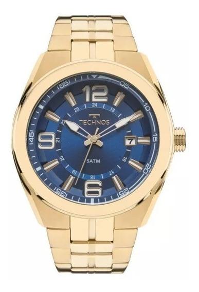 Relógio Technos Masculino 2315acq/4a(vai Com Brinde)