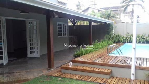 Casa Residencial À Venda, Parque Da Hípica, Campinas - Ca0225. - Ca0225