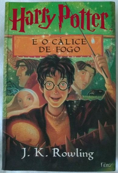 Livro Harry Potter E O Cálice De Fogo