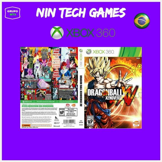 Dragon Ball Xbox 360 Jogo P/ Download Da Live Xbox