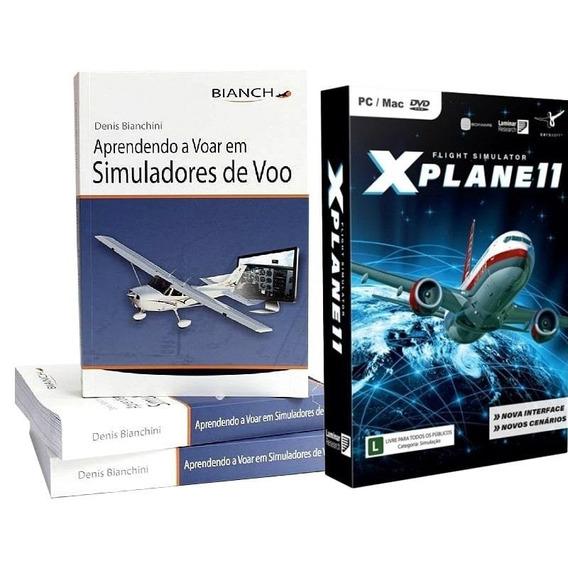 Kit X-plane 11 - Simulador + Livro