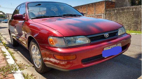 Verdadeira Relíquia, Corolla Le 1.8 16v 1995 Todo Original.