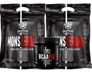 2x Monsterone (2x 3kg) + Bcaa Fix Em Pó - Integralmedica