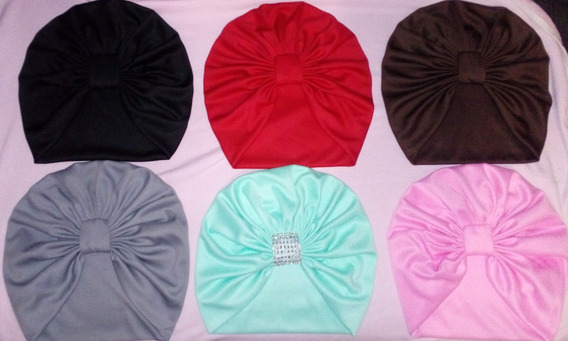 Turbantes Gorros Para Dama Adulto Oncologico -liso-estampado
