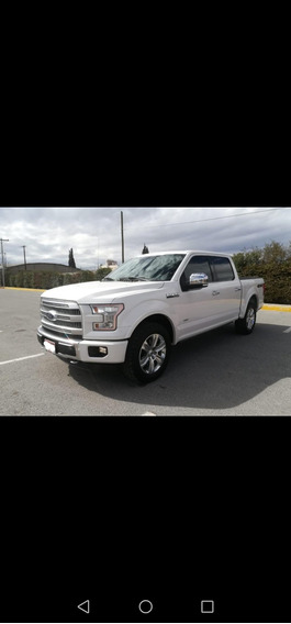 Ford Lobo Platinum 4x4 2016 Impecable