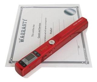 Soluciones Vupoint Varita Magica 2 Portatil Escaner Rojo
