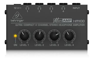 Amplificador De Auriculares Behringer Ha400 Micro Amp
