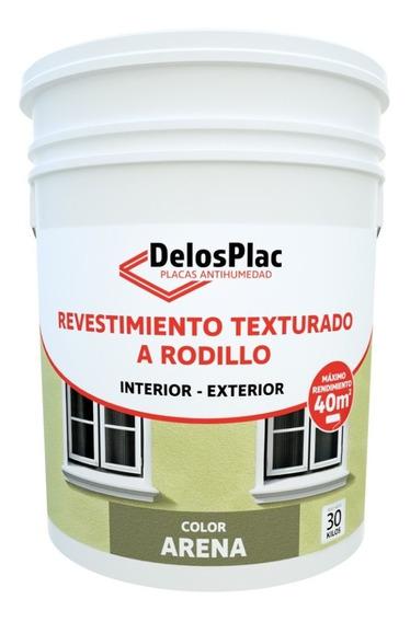 Revestimiento Plastico Rodillo Arena 30kg (simil Tarquini)